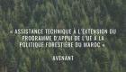 « Assistance Technique à l'extension du programme d'appui de l'UE à la politique forestière du Maroc » - Avenant